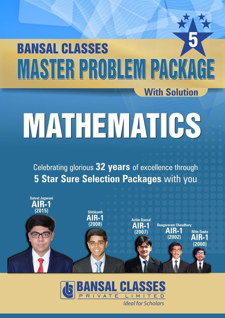 amazon in buy bansal classes master problem package 2018