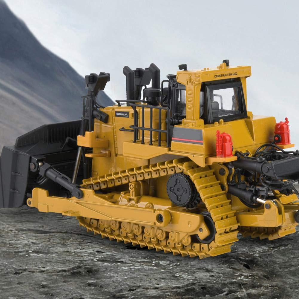 Alomejor 1700 1:50 Metal Bulldozer Modelo Ingenier/ía Construcci/ón Coche Veh/ículo Juguete