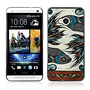 YOYOSHOP [Beautiful Zodiac Sign Fish] HTC One M7 Case