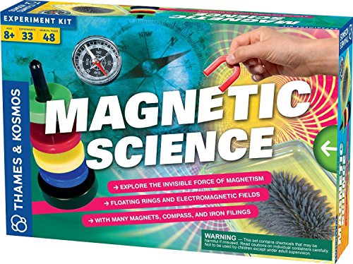 Thames and Kosmos Magnetic Science Experiment Kit Includes 33 Engaging Experiments and Games For Ages 8+