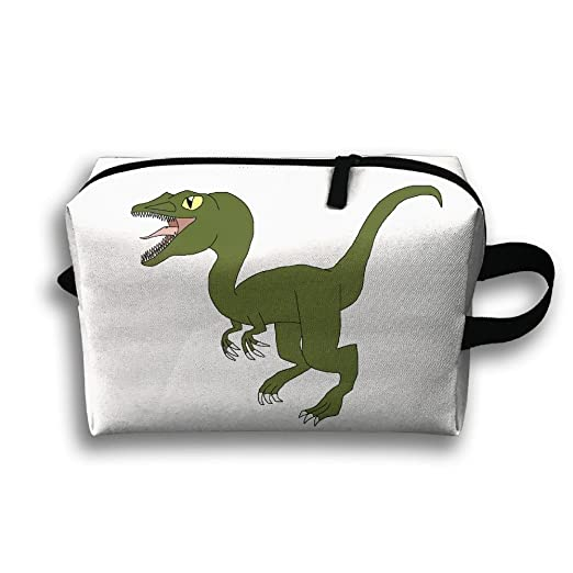 Storage Bag Travel Pouch Dinosaur Purse Organizer Power Bank Data Wire Cosmetic Stationery Holder