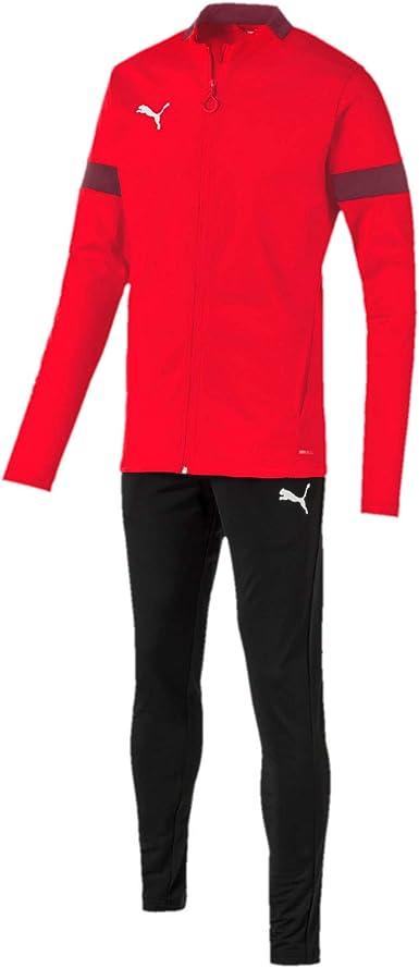 PUMA ftblPLAY - Chándal para Hombre, Color Rojo y Negro Rojo ...