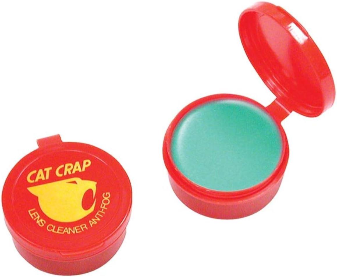 EK USA, Cat Crap, Anti-Fog Lens Cleaner Balm, Safe on All Lenses, Eyeglasses, Goggles, and Camera Lenses - 0.5 Ounce : Sports & Outdoors