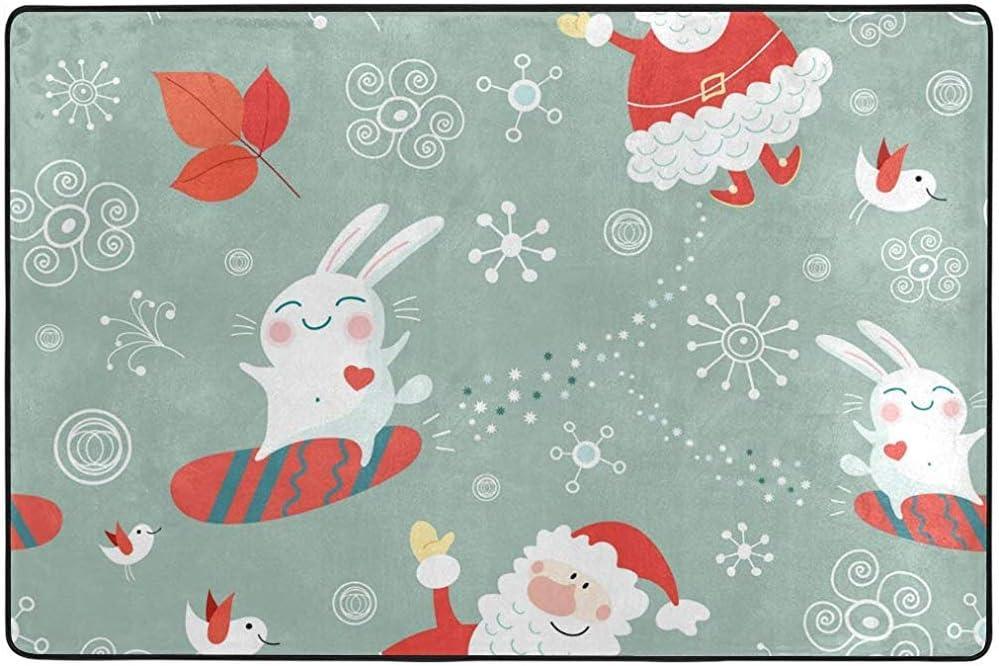 Odelia Palmer Christmas Texture Area Alfombra Alfombra para Sala ...