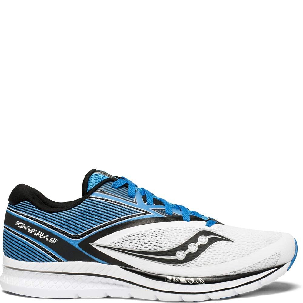 Blanc (Wht   bleu   Blk 2) 43 EU Saucony Kinvara 9, Chaussures de Fitness Homme