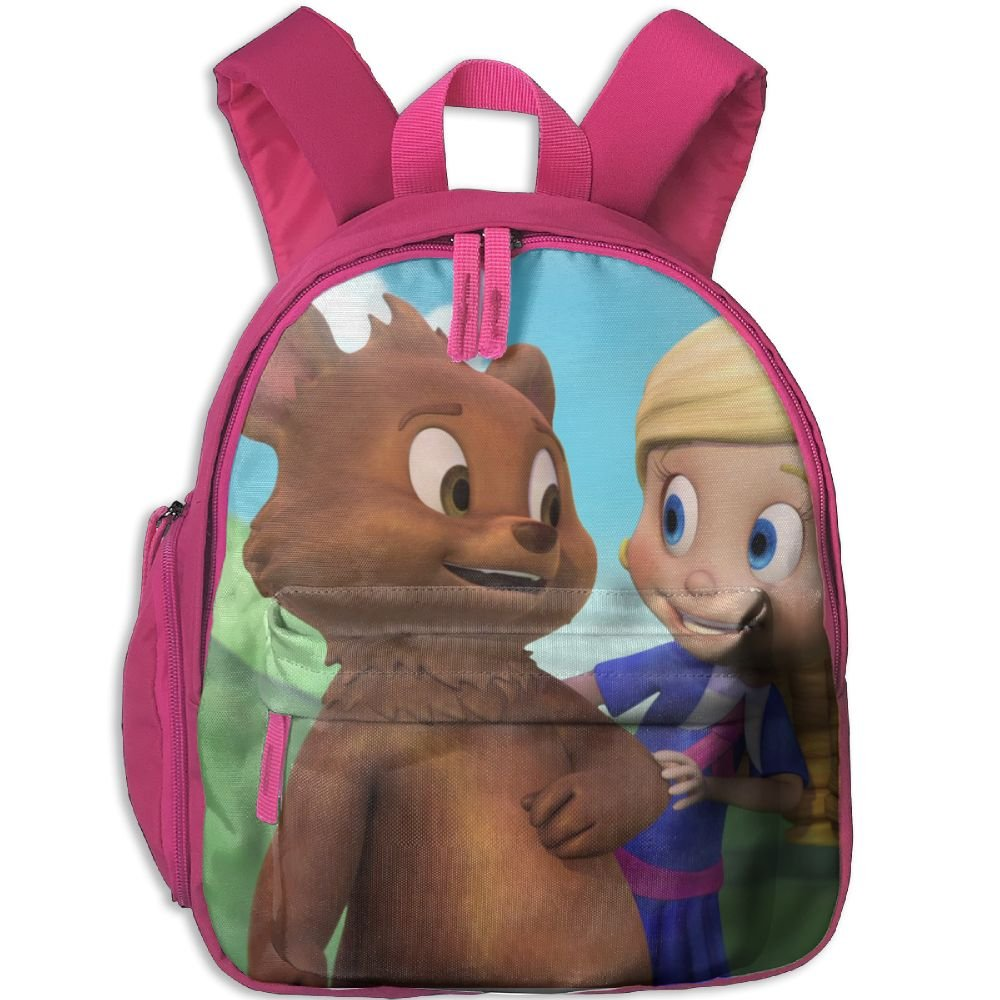 Goldie & Bear Comfy School Bags,Custom Cute Children Shoulder Daypack,Print Backpack For Kids by CARBZZ