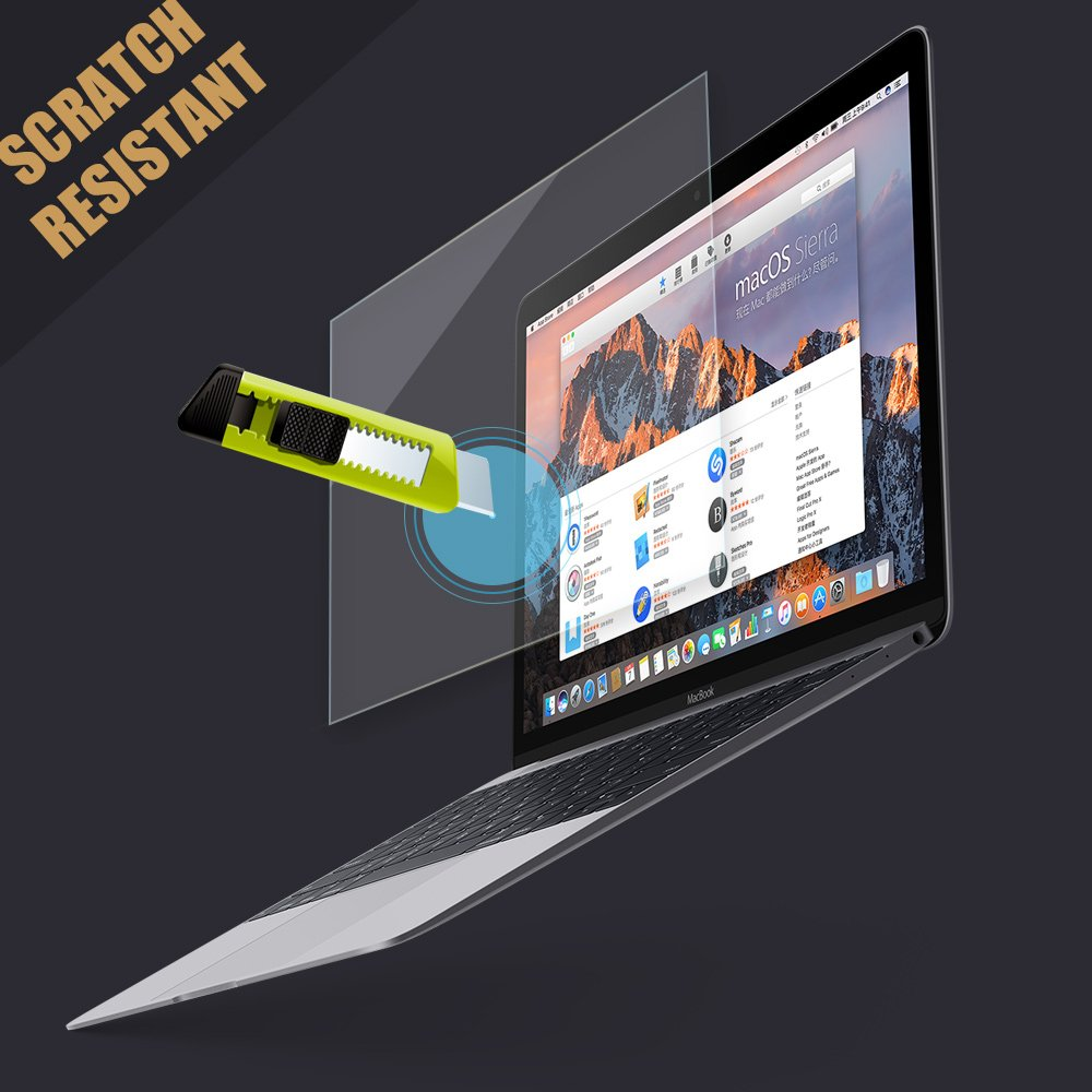 PERFECTSIGHT Tempered Glass Screen Protector for New MacBook Pro 15 inch Touch Bar 2016/2017/2018, 55% Anti Glare Blue Light Filter by PERFECTSIGHT (Image #7)
