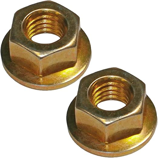 Homelite Ryobi CS30 Trimmer (2 Pack) Replacement Lock Nut # 04277-2pk