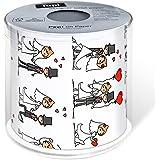 Paper+Design Toilettenpapier WEDDING DAY / 200Blatt - 3lagig