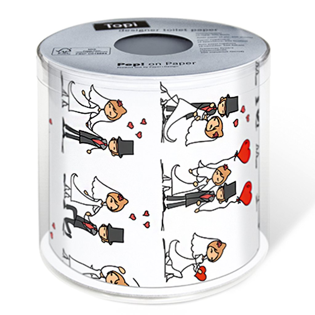 GAME OVER WEDDING TOILET PAPER LOO TISSUE BATHROOM ROLL AMUSING EXCLUSIVE PESENT
