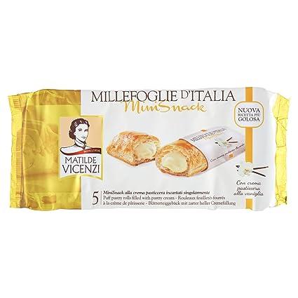 Matilde Vicenzi Millefoglie DItalia Minisnack Pasticcera ...
