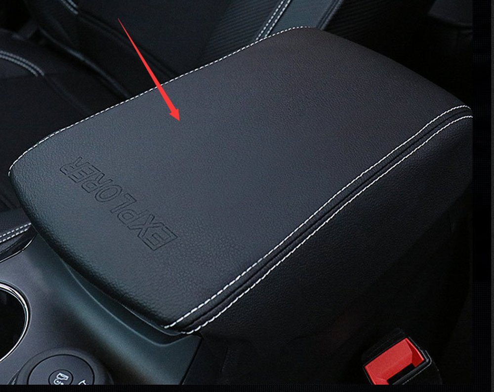 Salusy 4pcs Front/&Rear Door Armrest Storage Box Compatible with Ford Explorer 2016 2017 2018 2019