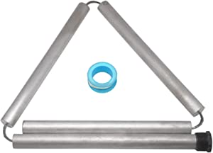 "Favonian RV Water Heater Anode Rod Magnesium Flexible rv Anode Rod KIT for Water Heaters with Teflon Tape,Prevent Corrosion Within Your Water Heater,44 Inches Long,0.80"" Diameter"