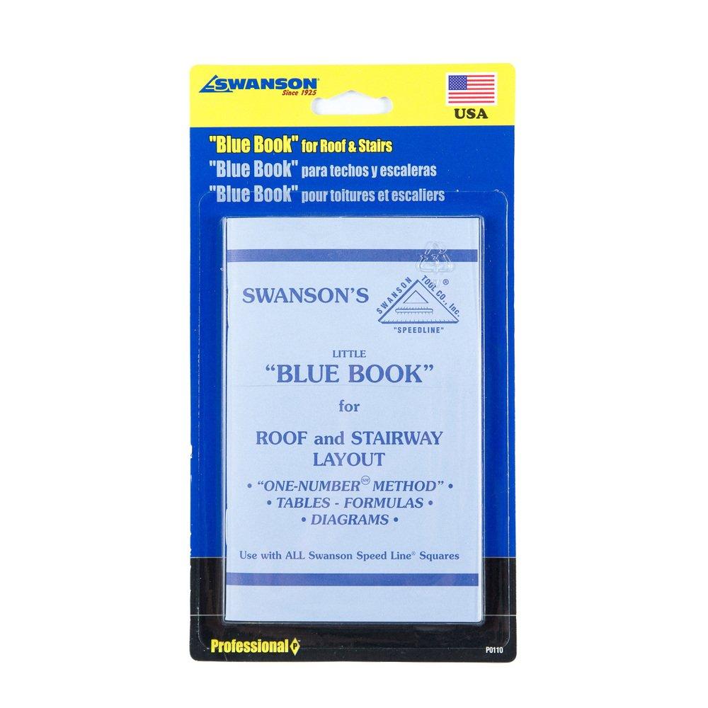 Swanson Werkzeug p0110 Little Blue Buch der Anleitung für Dach und ...