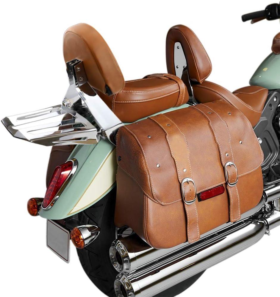 GUAIMI Passenger Backrest Luggage Rack Sissy Bar Desert Tan