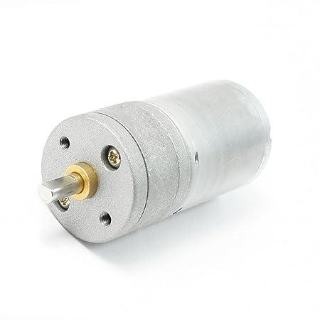 DC 12V 75mA 1000RPM Gear Box Motor Speed Reduce: Amazon co