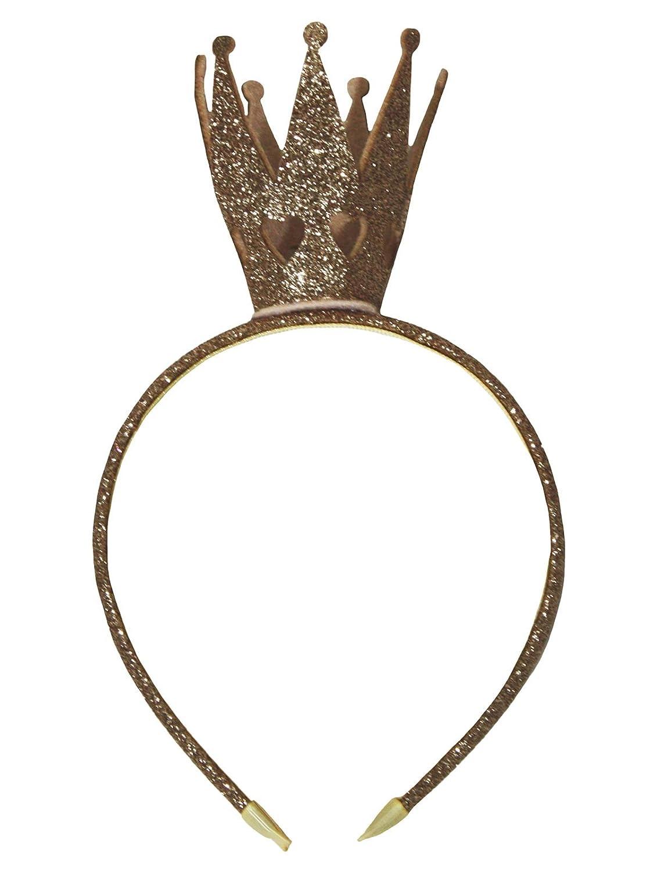 Petitebelle - Cerchietto ragazza con corona glitter AC005