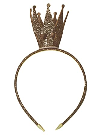 Petitebelle Bling Glitter Crown Headband Clothing Accessory for Girl (One  Size 8b8650e9ab7
