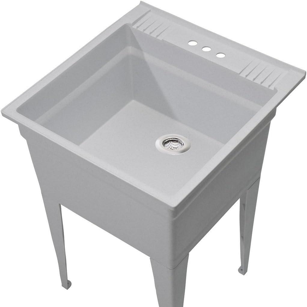 Waste Plug Drain Stopper Filter Basket Stainless Steel Kitchen Sink Strainer EG