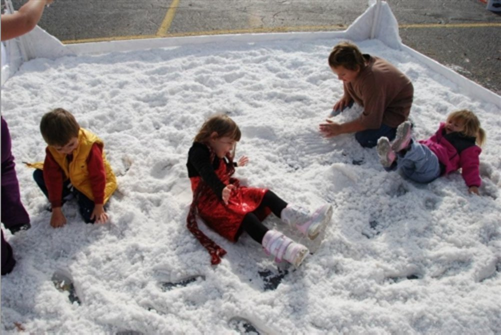 How to make fake snow encore kids parties