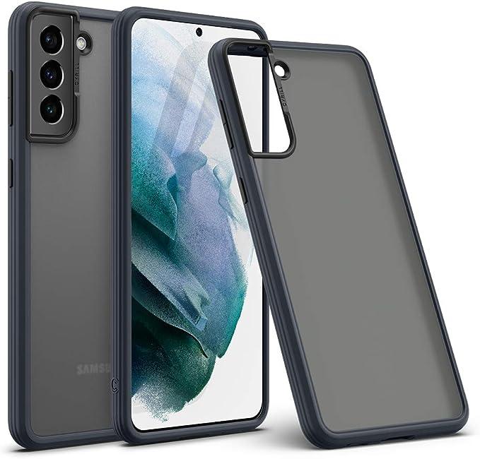Amazon.com: CYRILL Galaxy S21 case, Color Brick Matte Finish Protective Bumper Case Designed for Samsung Galaxy S21 Case/Galaxy S21 5G Case (2021) - Dark Gray