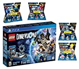 Lego Dimensions Starter Pack + The Simpsons Homer Simpson + Portal 2 + Doctor Who + Back To The Future Level Packs Playstation 4 PS4