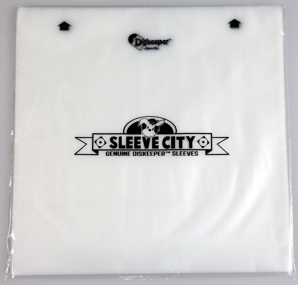 Diskeeper 2.0 Antistatic Record Sleeves (250 Pack) Sleeve City 9235