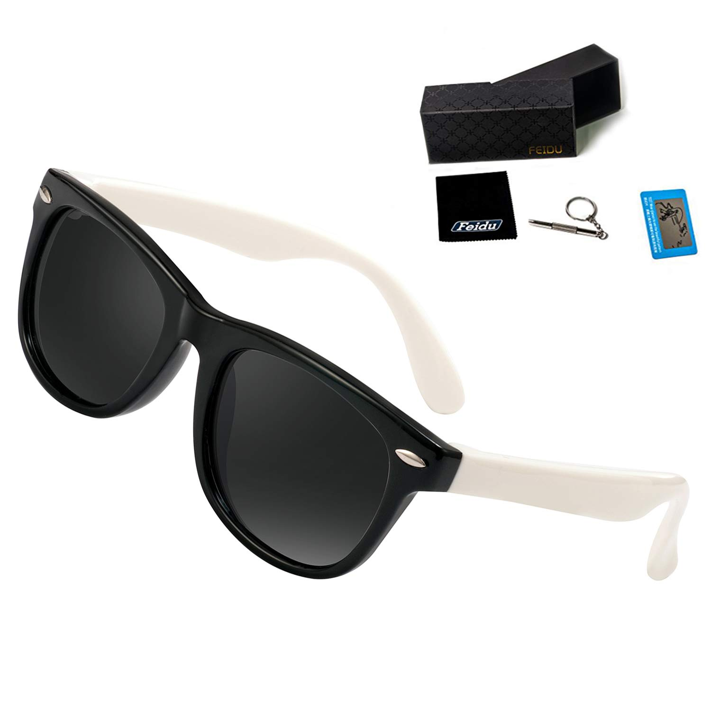 Kids Sunglasses For Kids- FEIDU Polarized Sunglasses Girls Child Boys Age 3-10 FDC2149