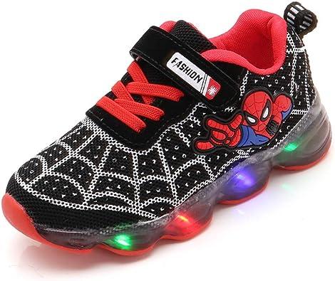 XDG Kids Boys Girls Spider-Man Sneakers