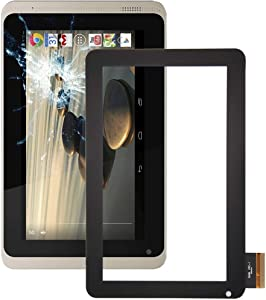 YINZHI Replace Spare Part, Touch Panel Compatible for Acer Iconia B1-720 (Black) Mobile Phone Repair Parts (Color : Black)