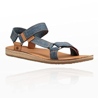 887f766864b3 Teva Original Universal Denim Sandals - SS18-13 Blue  Amazon.co.uk ...
