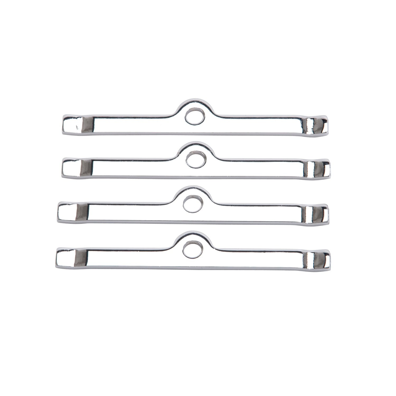 Edelbrock 4404 Chrome Valve Cover Hold-Down Tabs - Pack of 4
