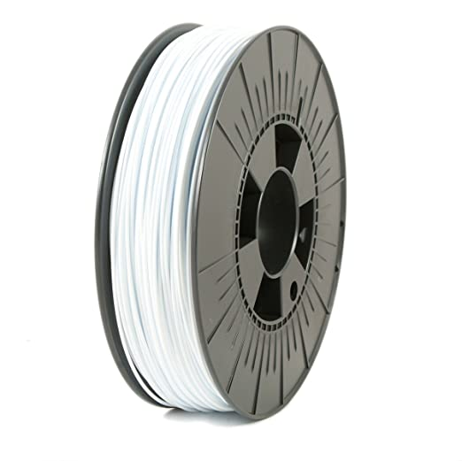 ICE FILAMENTS ICEFIL1PLA119 PLA Filament, 1.75 mm, 0.75 kg, Wintershine White