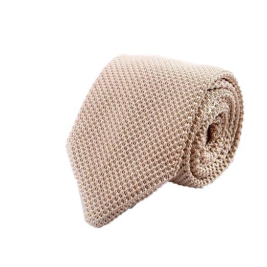Gespout Corbata de Hombre Chicos Clásica Tejer Tie Tuxedo Novio ...