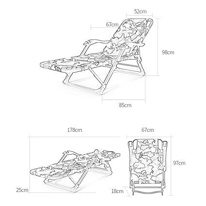RKY Sillas Plegables- Sillón reclinable Plegable audaz ...