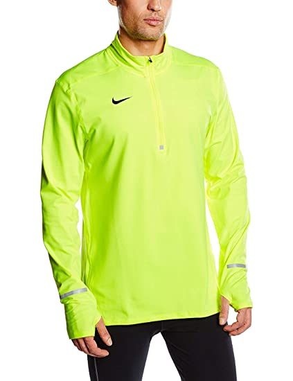 9c268ddec9f7 Image Unavailable. Image not available for. Color  Nike Men s Dri-Fit  Element Half Zip Running Top ...