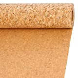 LaRibbons 11.8 Inch Wide Natural Color Cork Ribbon Fabric, 10 Feet Each Roll