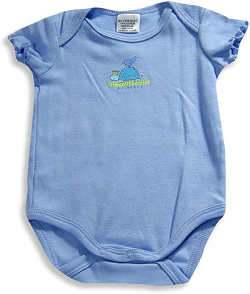 Mulberribush Baby Infant Newborn Girls or Boys Short Sleeve One Piece