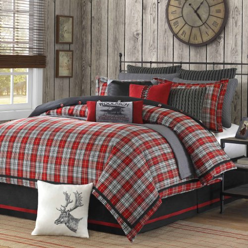Woolrich Williamsport Comforter Set, King, Multicolor