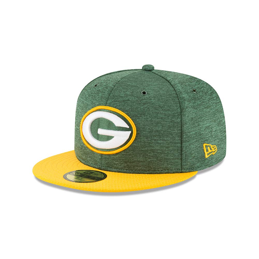 Amazon.com  New Era Green Bay Packers NFL Sideline 18 Home On Field Cap 59fifty  Fitted OTC  Clothing cc5034de4