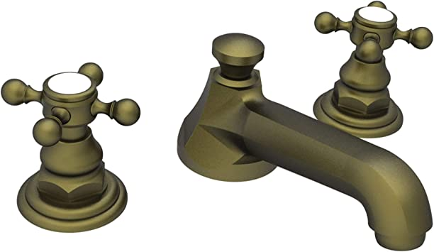 Newport Brass 920 06 Astor Double Handle Widespread Lavatory Faucet With Metal Cross Handles Includes Pop Up Assembly Touch On Bathroom Sink Faucets Amazon Com