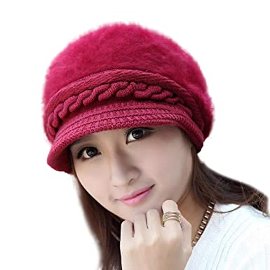 iSweven Stretchable Skull Cap (4022) For Boys Mens Women Girls Woolen  Knitted Hat Winter cffefb7f185