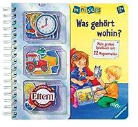 Ravensburger 04321 ministeps® Bücher Was gehört wohin?(Magnet)