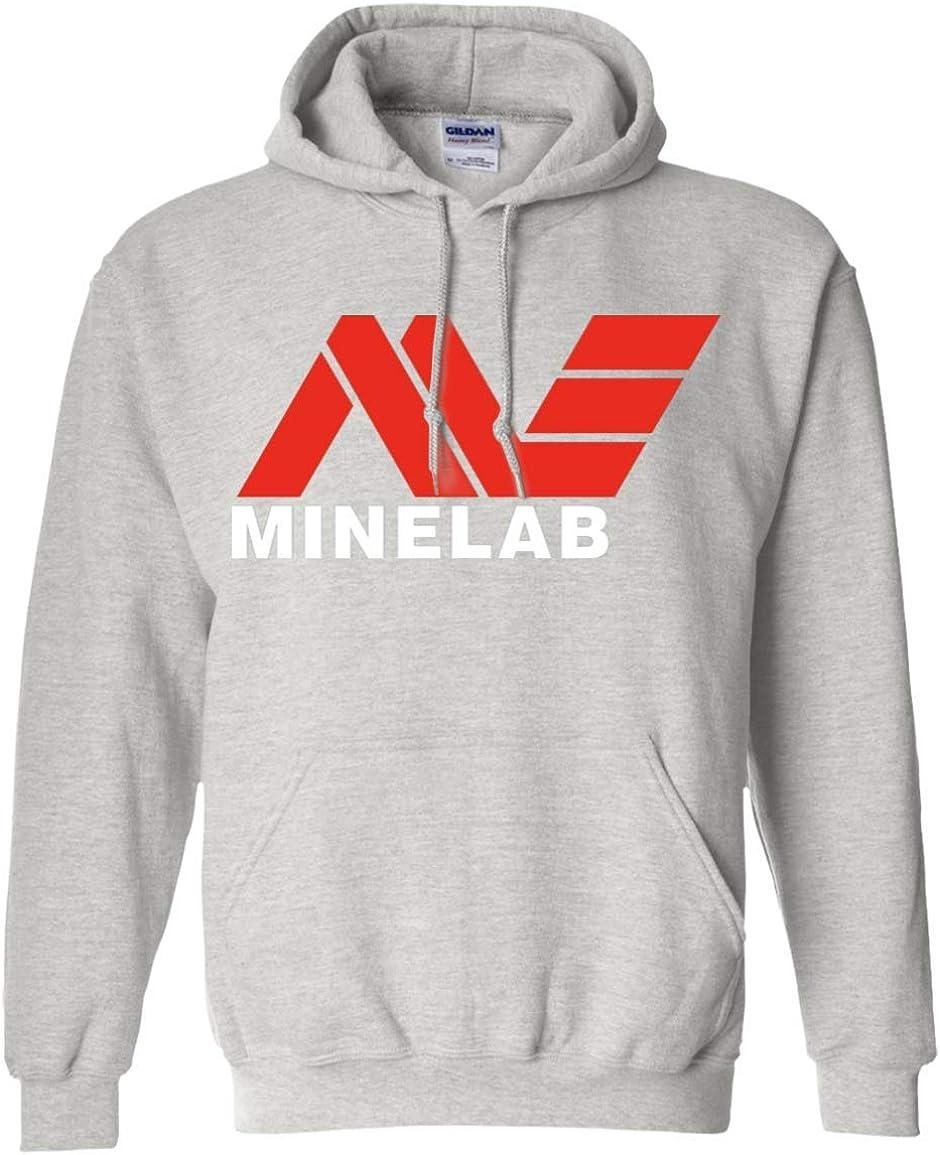 teelaunch Minelab Logo - Sudadera con Capucha (Metal) - Gris - Medium: Amazon.es: Ropa y accesorios
