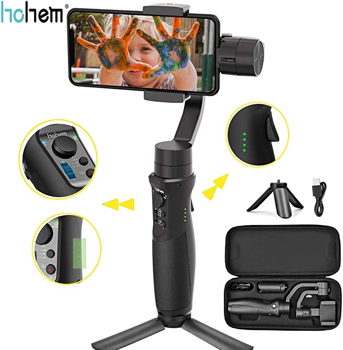 Hohem iSteady Mobile Plus Handheld Smartphone Gimbal Estabilizador ...