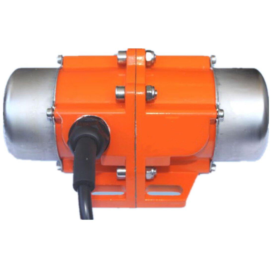 Concrete Vibrator Vibration Motor AC220V Aluminum Alloy Vibrating Vibrator Motor 3600rpm (80W)