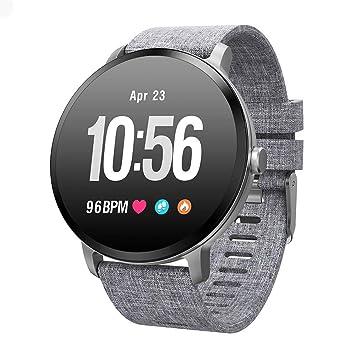 NICREB Reloj Inteligente Ip67 Impermeable Cristal Templado ...
