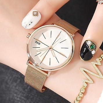 SHOUB Reloj para Mujer Moda para Mujer de Gama Alta Reloj para ...