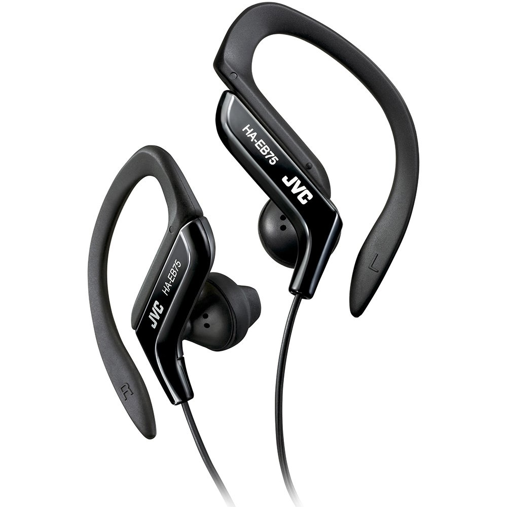 a9175887d75 Amazon.com: Clip Style Headphone Black Lightweight and Comfortable Ear  Clip. Splash Proof Water resistant Powerful Sound with Bass Boost JVC  HAEB75B: Home ...