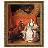 Design Toscano The Declaration of Love, 1735: Canvas Replica Painting: Medium